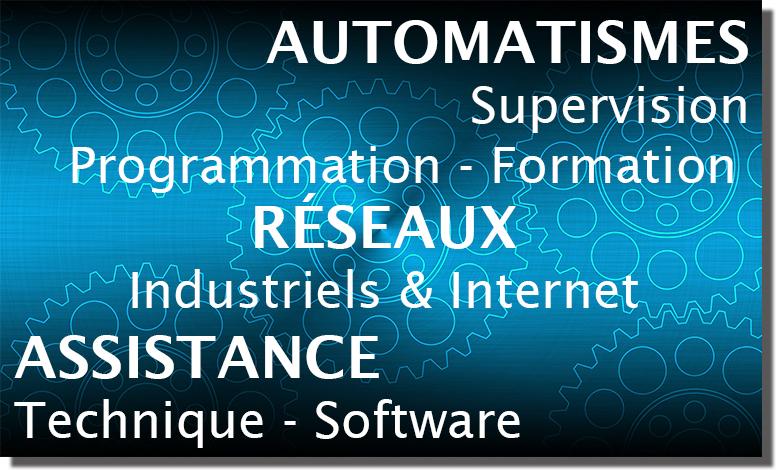 automatismes, réseaux et assistance